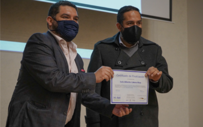 Hotel Resilient's training of trainers course in Ecuador culminates with Ministry of Tourism awarding of certificates